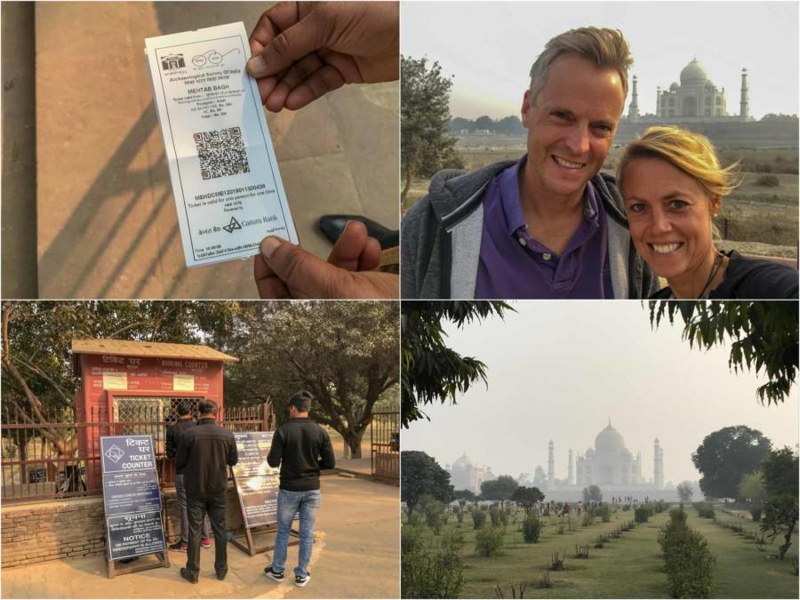 Unser Tipp: Besonders schön zum Sonnenuntergang: Eindrücke im Mahtab Bagh in Agra