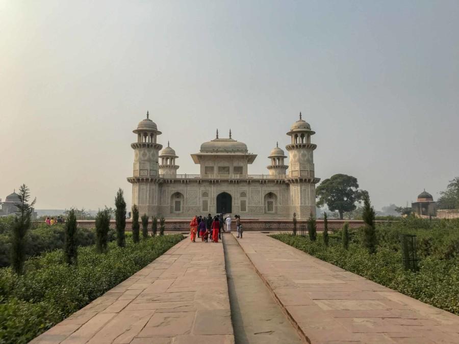 Sehenswuerdigkeiten, Highlights & Tipps in AGra: Das Mausoleum Itimad-ud-Daulah, auch Baby Taj Mahal genannt