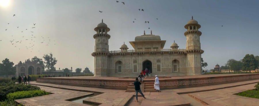 Sehenswuerdigkeiten, Highlights & Tipps: Panorama im Mausoleum Itimad-ud-Daulah