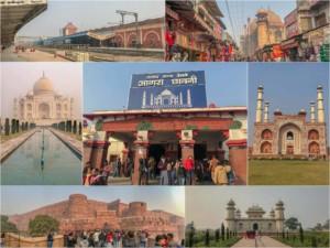 Eindrücke von Agra, Sehenswürdigkeiten, Highlights & Tipps