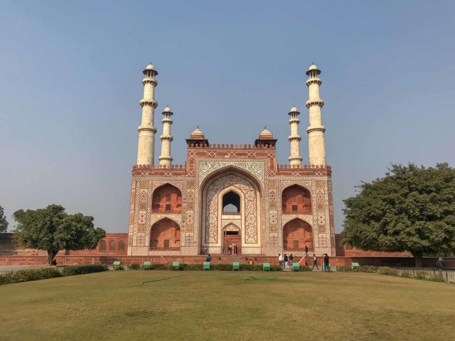 Sehenswürdigkeiten, Highlights & Tipps in Agra: Eindrücke im Sikandra Akbar Mausoleum