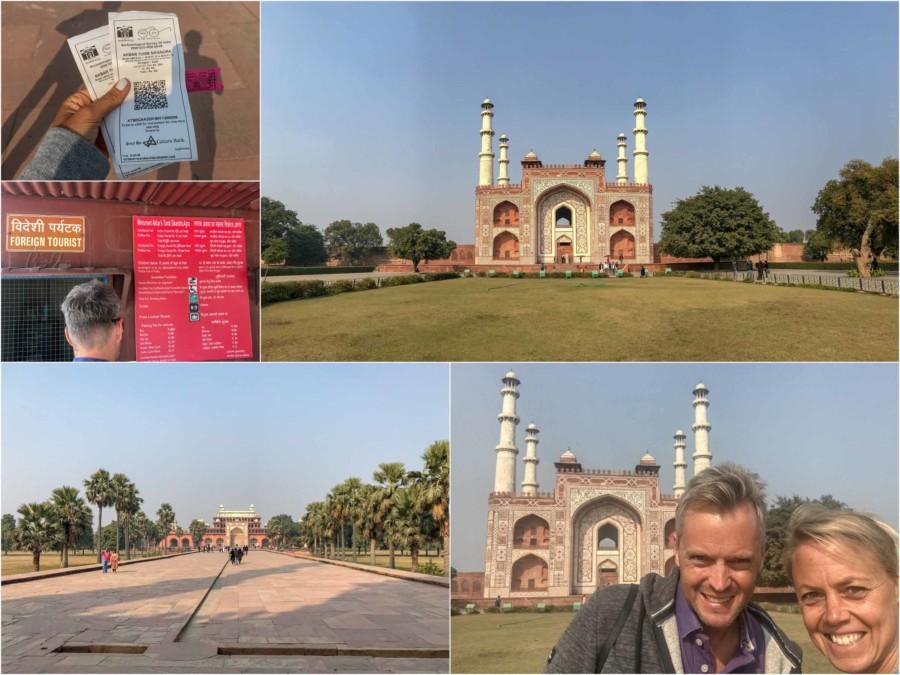 Sehenswürdigekeiten, Highlights & Tipps in Agra: Eindrücke im Sikandra Akbar Mausoleum