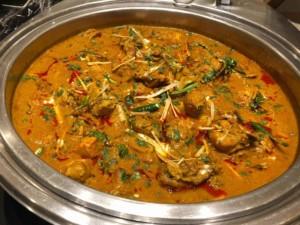 Essen in Indien: Chicken Korma