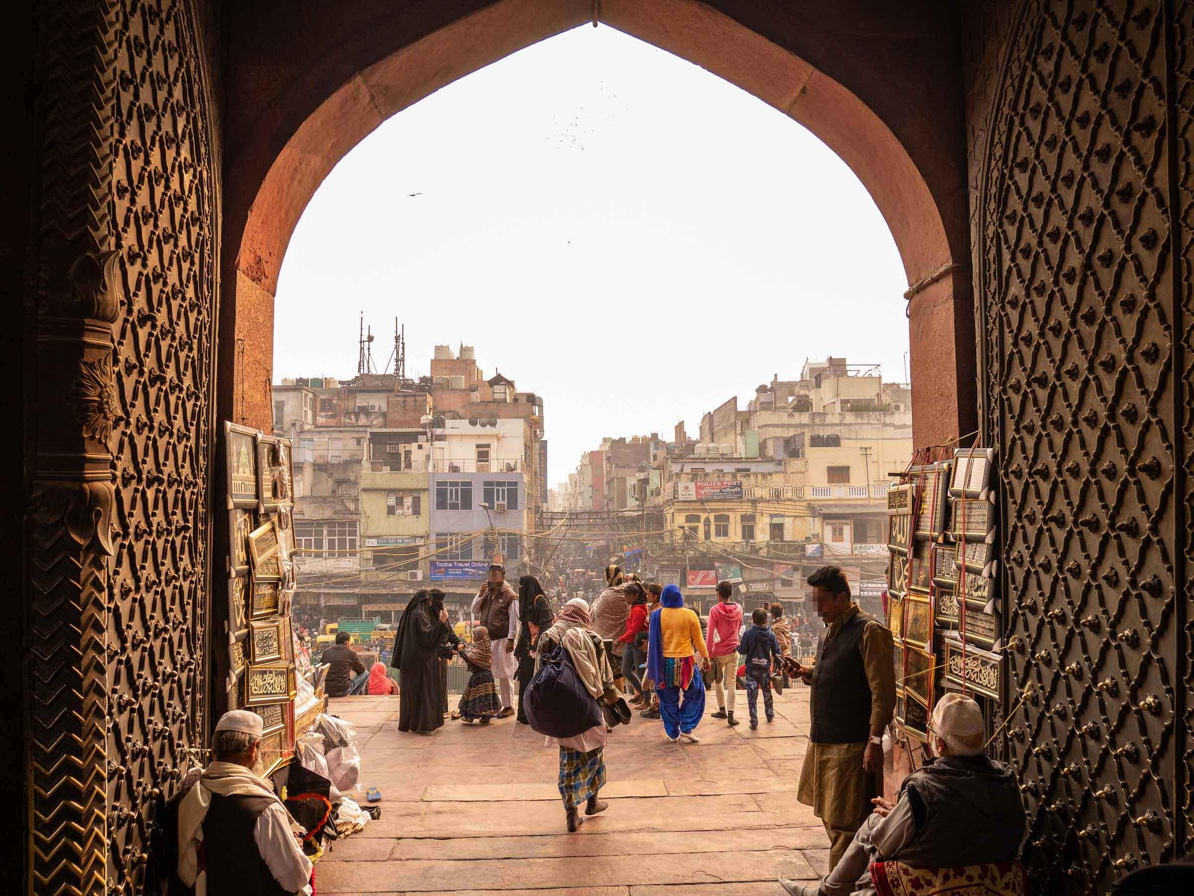 Delhi, Sehenswürdigkeiten, Tipps: Blick auf die Altstadt