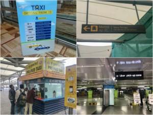 Anreise und öffentliche Verkehrsmittel in Delhi: So kommst Du vom Flughafen in die Stadt: Taxi, Metro, Uber, Ola