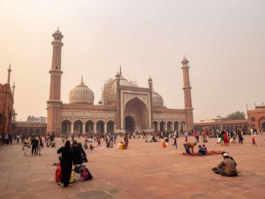 Sehenswürdigkeiten & Tipps: Die Freitagsmoschee Jama Masjid