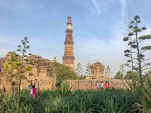 Sehenswürdigkeiten und Tipps: Weltkulturerbe Qutb Minar in Delhi