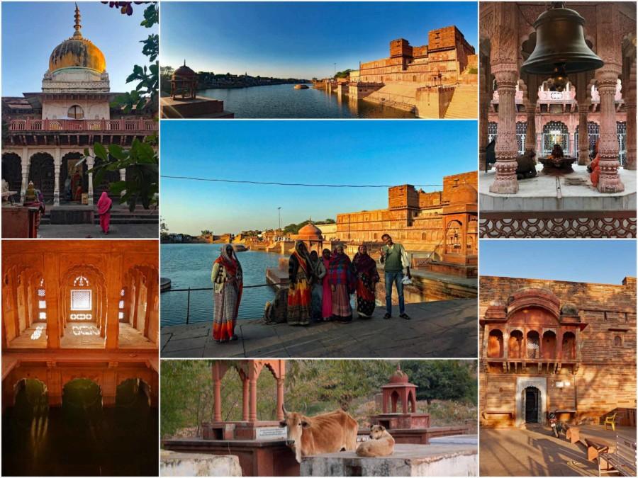 Dholpur Chambal Gebie: Eindrücke im Machkund Tempel, die top Sehenswürdigkeit