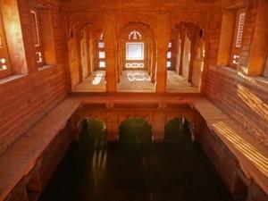 Badestelle der besser gestellten Gesellschaft im Machkund Tempel