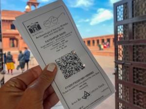 Eintritt zum UNESCO Weltkulturerbe Fatehpur Sikri