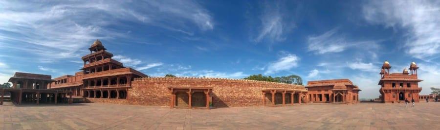 Interessante Orte und Sehenswürdigkeiten in der Geisterstadt Fatehpur Sikri