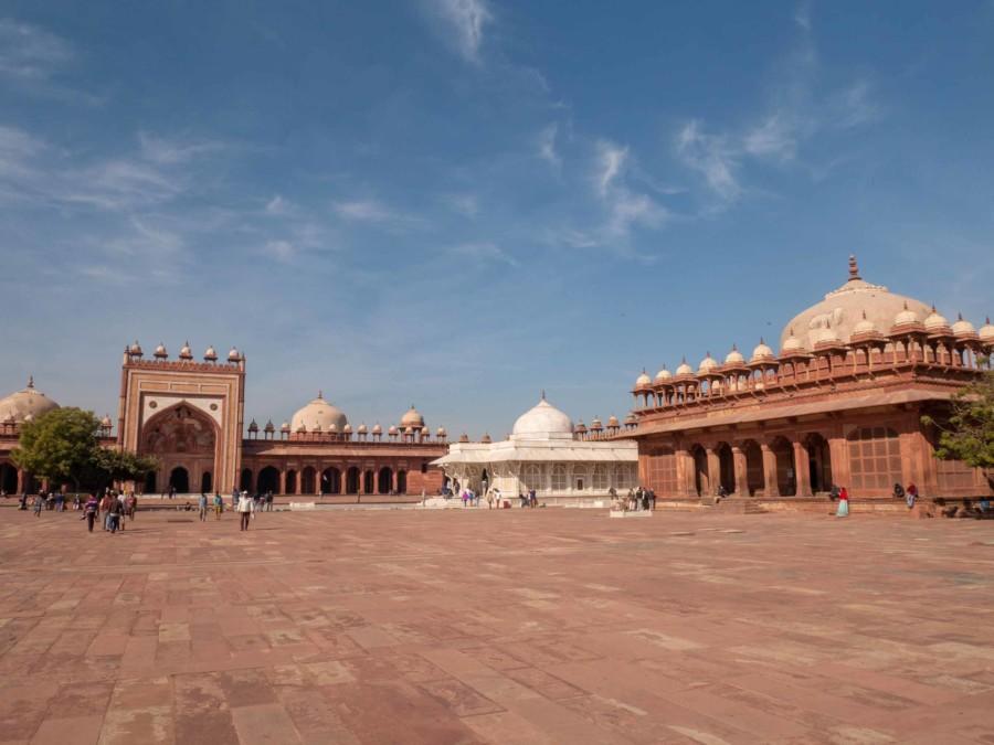 Die Freitagsmoschee Jama Masjid in Fatehpur Sikri