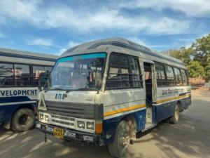 Kleinbus zur historischen Stätte Fatehpur Sikri