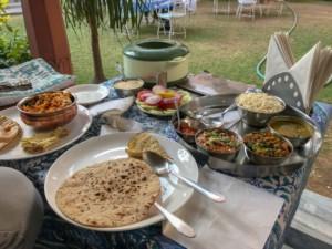 Erfahrung beim Essen in Indien: Essen in Indien ist üppig und lecker