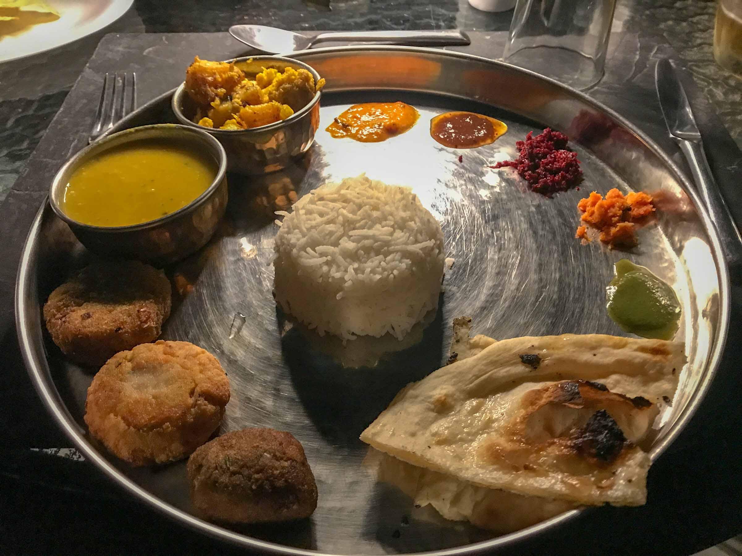 Essen Indien