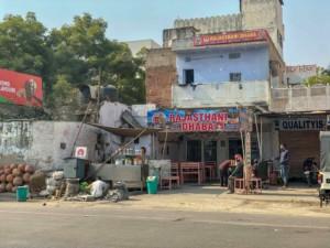 Küche & Essen: Typisches kleines Restaurant in Indien