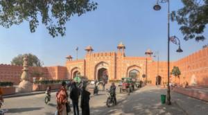Tor zur Pink City, die Altstadt von Jaipur