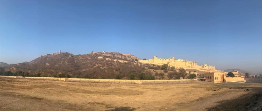 Weg zum Amber Fort