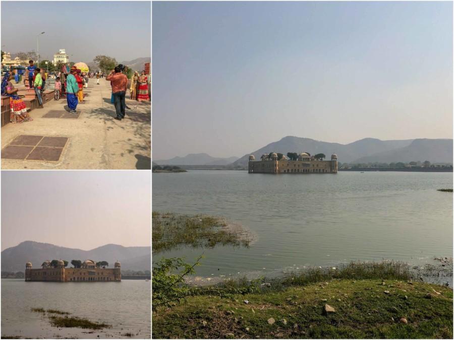 Das Jal Mahal, das Wasserschloss von Jaipur
