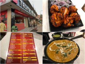 Talk of the Town, unser Restaurant- Tipp in Jaipur: Chicken Tikka, und Chicken Tikka Masala
