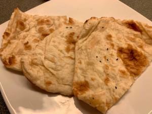 Naan Brot, mein Lieblingsbrot in Indien