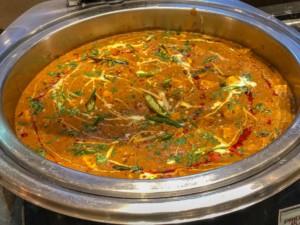 Panir Curry, der indische Käse