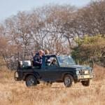 Der Gypsy / Jeep eignet sich perfekt zur Tiger-Safari im Ranthambore oder Sariska-Nationalpark.