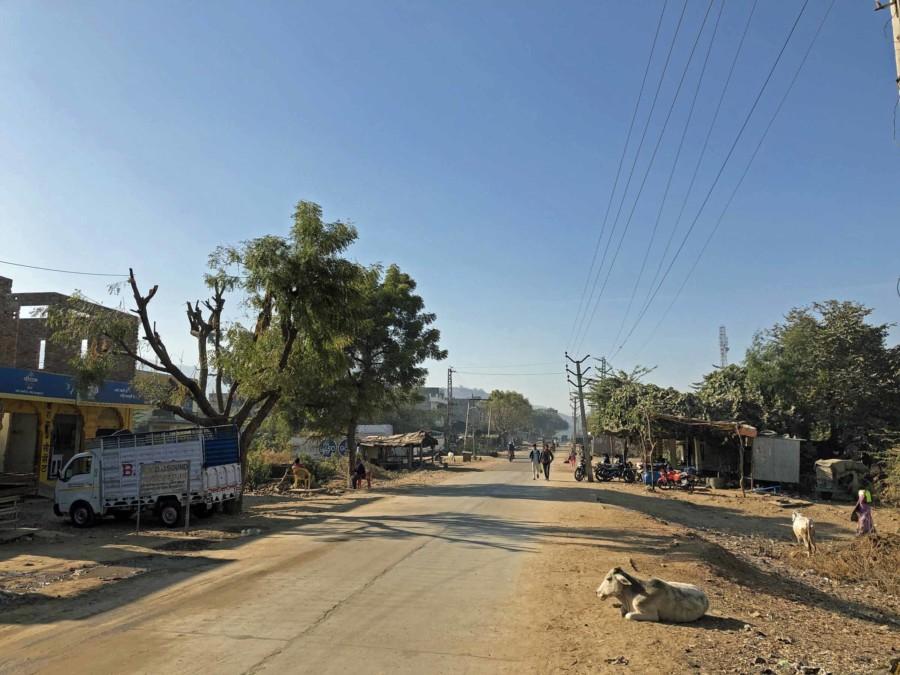 In den Ortschaften rund um den Ranthambore Nationalpark ist nicht viel los.