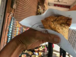 Samosa, ein beliebter Street Food Snack