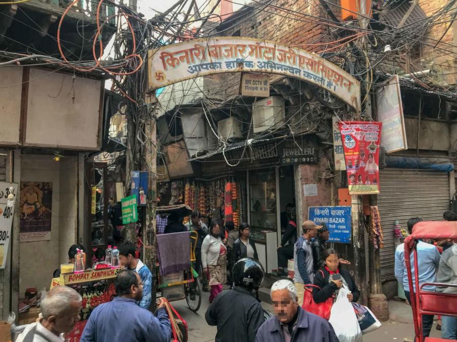 Kinari Bazar in Old Delhi - ein Muss und Tipp