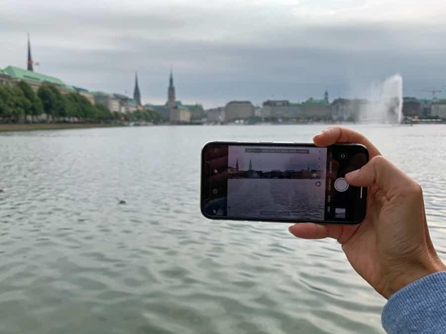 Unsere Empfehlung als beste Kamera: Als Reisekamera nutzen wir meist unser Smartphone