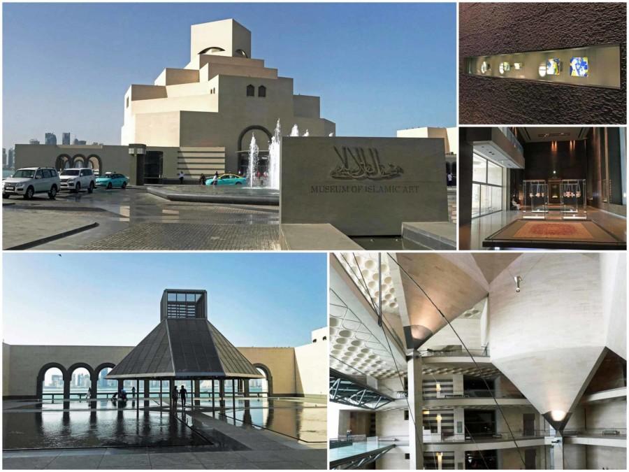 Eines der Highlights und eine der wichtigsten Sehenswürdigkeiten in Doha ist das Islamic Art Museum Collage