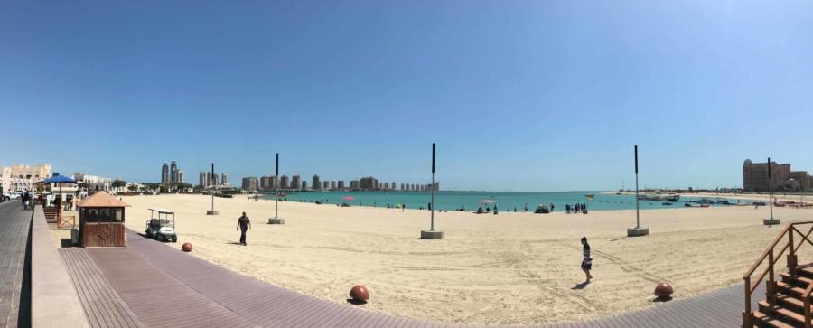 Sehenswürdigkeiten und Highlights in Doha: Strandpromenade in Katara