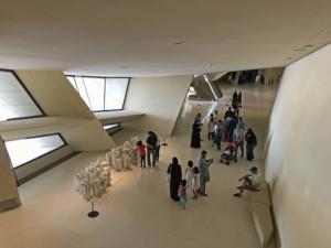 Das National Museum in Doha von Innen