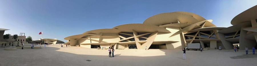 Blick auf das Gebäude des National Museum in Doha