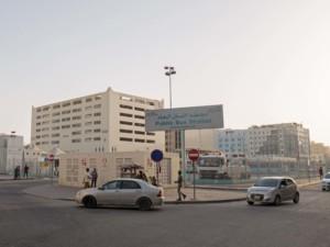 Öffentliche Bus Station in Doha