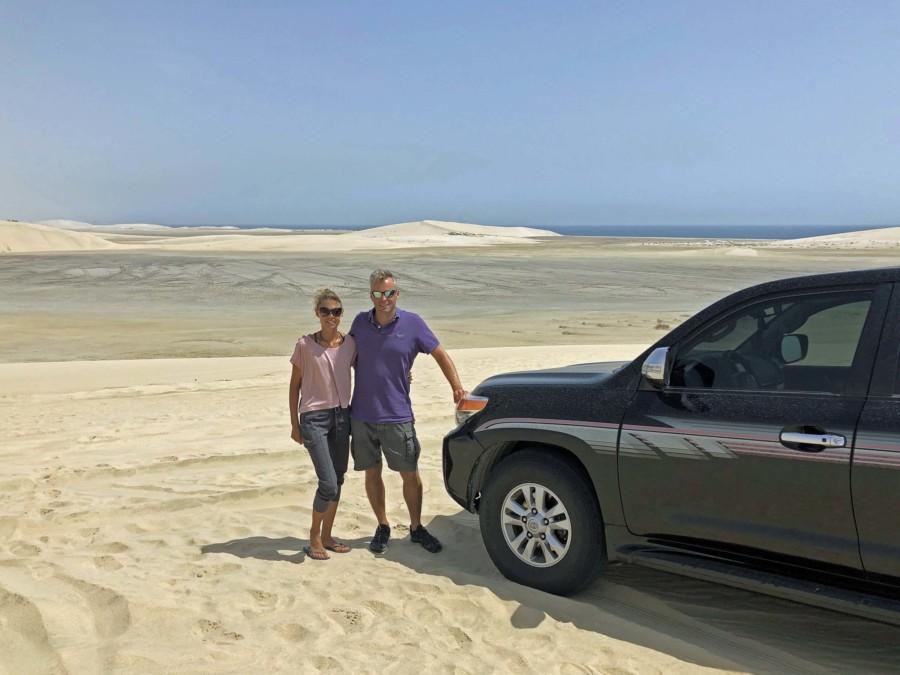 Unserem Empfehlung ist einen Tour durch die Wüste von Katar im Geländewagen