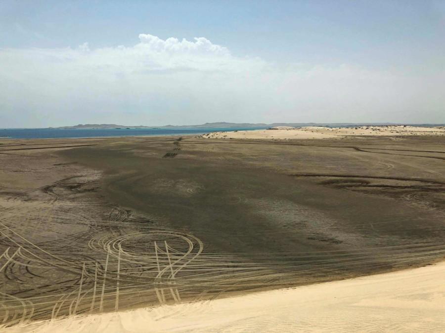 Wüste von Katar und Inland Sea