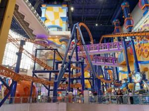 Interessante Orte in Kuala Lumpur: Freizeitpark inkl. Shoppingcenter, der Berjaya Times Square Theme Park in Bukit Bintang
