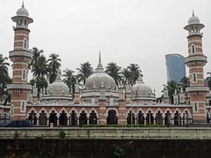Sehenswürdigkeiten und interessante Orte: Masjid Jamek, die älteste Moschee in KL