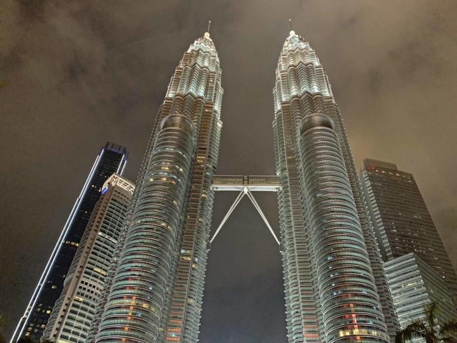 Petronas Towers, das Wahrzeichen von Kuala Lumpur