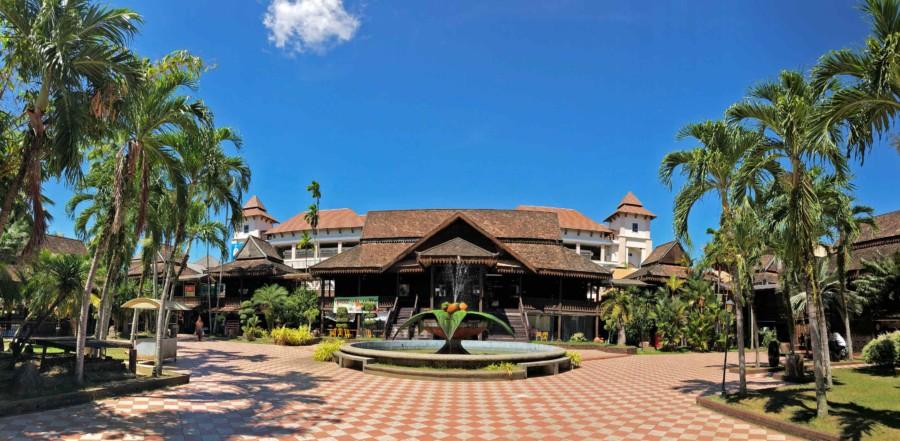 Sehenswürdigkeiten in Kota Bharu: Panorama des Kelantan Handycraft Village