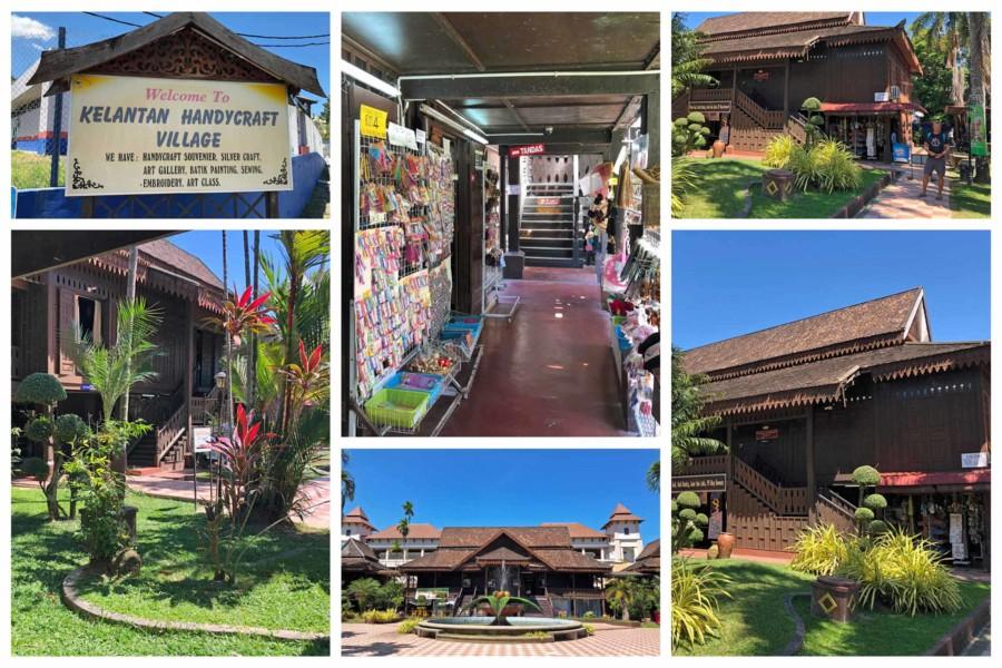 Sehenswürdigkeiten in Kota Bharu: Souvenirs und heimische Kunst findest Du im Kelantan Handycraft Village