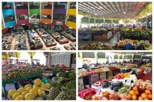 Sehenswürdigkeiten in Kota Bharu: hier der Markt Pasar Besar Siti Khadijah
