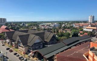Sehenswürdigkeiten, Tipps & Highlights: Der Blick von oben auf Kota Bharu