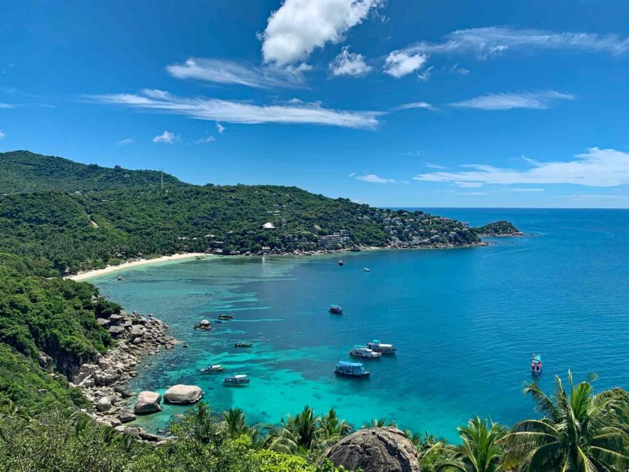 Sehenswürdigkeiten & Tipps: Blick vom John Suwan View Point auf den Haad Tien Beach