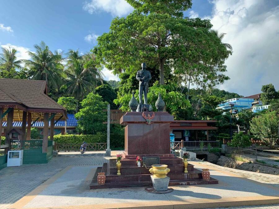 Sehenswürdigkeiten und Tipps: Das King Rama V Denkmal: Leam Jor Por Por