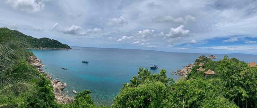 Panorama vom View Point des Sai Daeng Resort