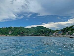 Blick auf den Sai Daeng Beach