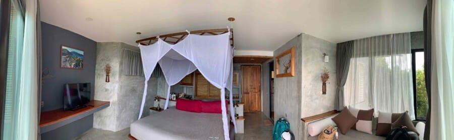 Tipps zur Unterkunft: Unser Zimmer C202 im Sai Daeng Resort